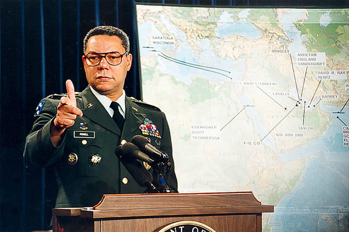 """""""Arrabbiati, ma poi non pensarci più"""" <br> Le 13 regole del Segretario di Stato Colin Powell"""