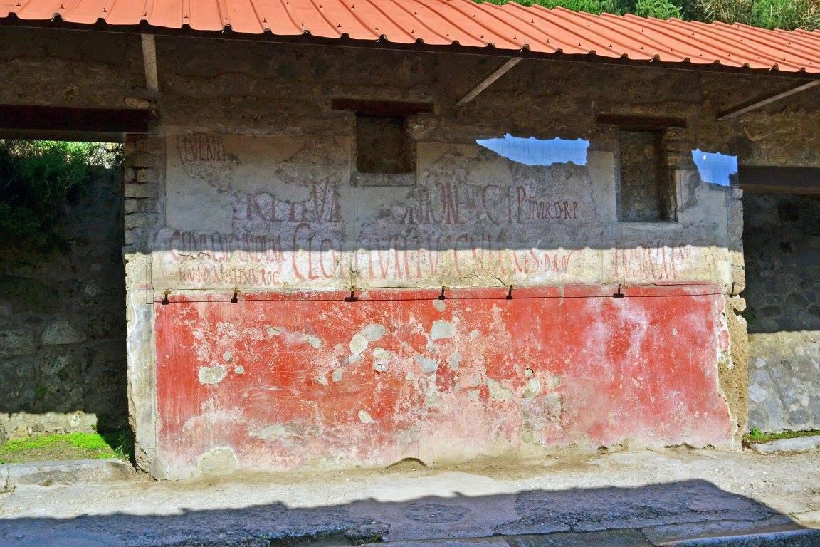 Le scritte sui muri di duemila anni fa<br>Siamo rimasti coglioni