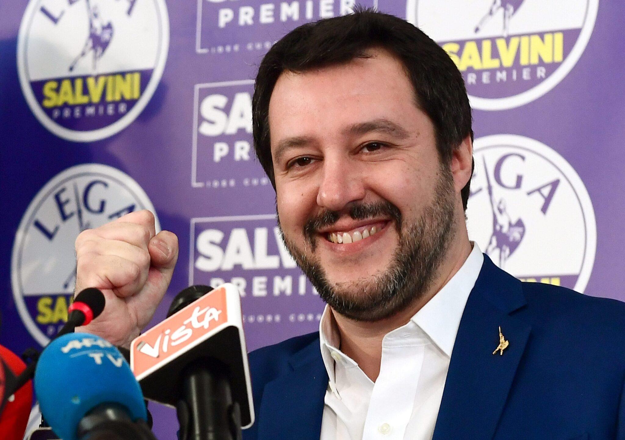 Salvini bersaglio prediletto della stampa