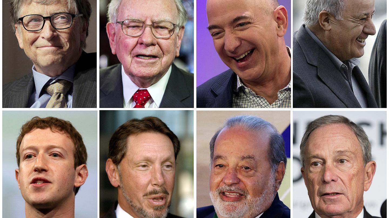 I più ricchi del mondo hanno sofferto la fame <br> I segreti del successo? Svegliarsi presto e rischiare