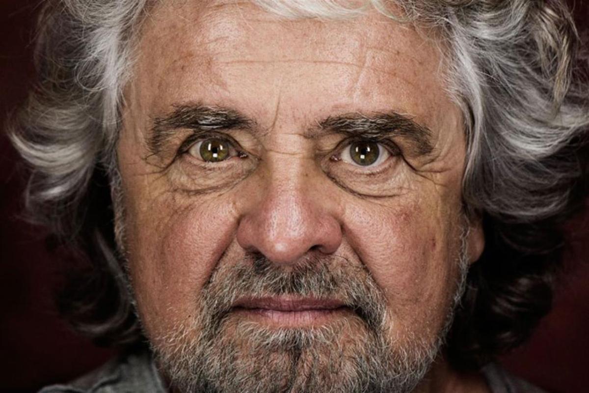 Grillo perde le staffe e aggredisce un giornalista.<br> Nervosismo da imminente flop elettorale.<br> L'Elevato vola sempre più rasoterra